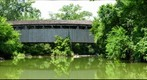 The Black (Pugh&#39;s Mill) Covered Bridge - Four Mile Creek Oxford Ohio