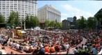 World Cup Final Game at Pioneer Courthouse Square