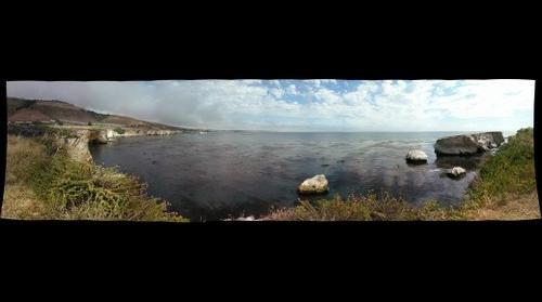 Between Pismo and Shell Beach Cliffs