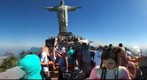 Images from Corcovado monument. Rio.
