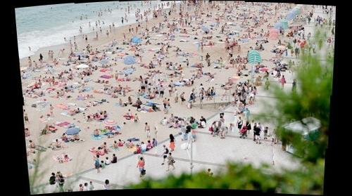 Biarritz, Grande Plage, France
