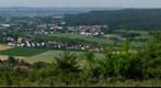 Widefield Panorama of the town of Bayreuth - Summer 2010