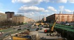 Leningradsky Avenue under reconstruction