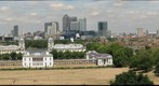 London from the Royal Observatory 2010