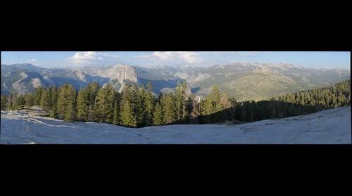 Half Dome - Yosemite from Sentinel Dome