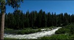 Bend, OR, The Deshutes River, Lower Lava Island Falls
