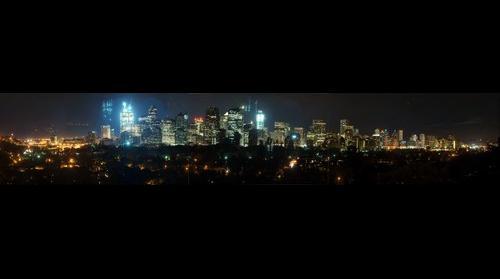 Calgary Skyline (night)