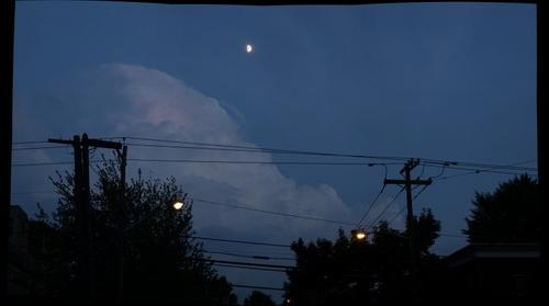 Jersey City Moon panorama