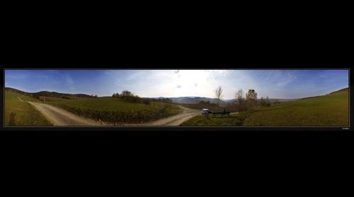 Auf dem Weg zum Almhof in Raschau (Erzgeb.)