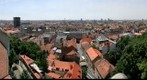 Zagreb panorama from the tower Kula Lotrak - Croatia