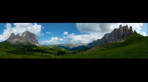 Passo Sella - Sassolungo - Torri di Pisa