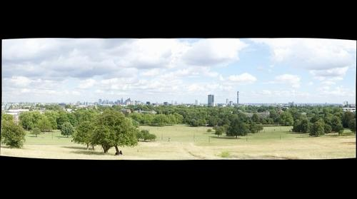 Views over London from Primrose Hill v2