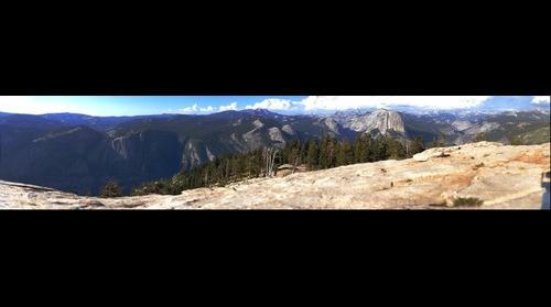 Yosemite - Half Dome from Sentinel Dome