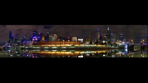 Melbourne City Twilight by Dee Kramer Photography