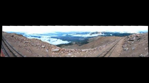 On top of Pikes Peak