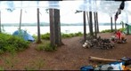 Little Tupper Lake, under the tarp