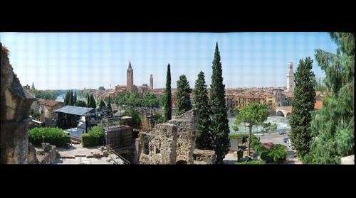 Verona from Roman theater