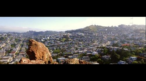 San Francisco - View from Corona Heights Park