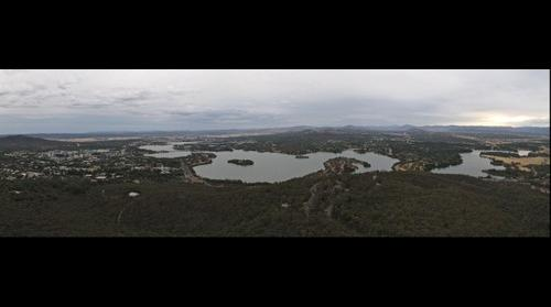 Canberra, the dry water city