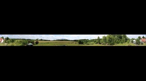 Panorama wokol naszego domu