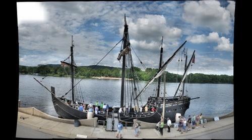 Replica of the ship Nina