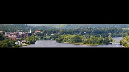 Brattleboro Vermont by the Connecticut River