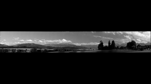 Gerzensee & Berner Oberland - black&white