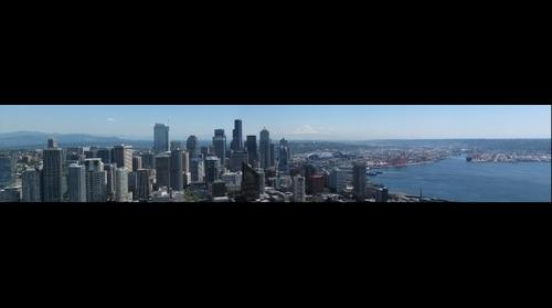 Seattle from the Space Needle Part 1