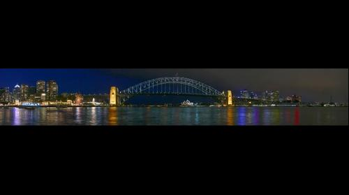 Sydney Harbour Twilight Night Image by Dee Kramer Photography
