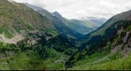 Panorama del Valle de Estos, Pirineos (Pyrenees). Objetivo 105mm, 83 fotos.