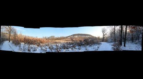 A Pilis télen