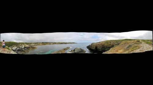 Panoramica en Ribadeo