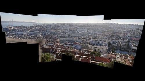 Lisboa desde el Castelo de Sao Jorge.