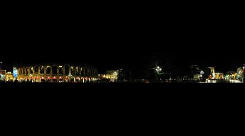 Piazza bra night view