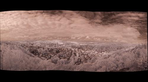 Infrared of Honesdale, PA, Number 1