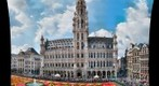 Gigapan photo of the carpet flowers at the grand place of Brussels, Belgium