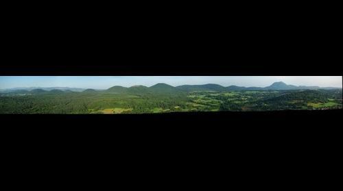 Panorama sur la chaine des Puys