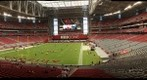 Glendale, AZ - AZ Cardinals vs. Houston Texans, pre-game view