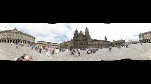 Plaza del Obradoiro - Santiago de Compostela