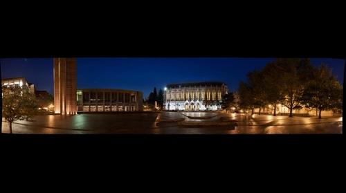 University of Washington: Suzzallo Library at Night