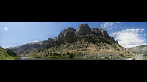 Wind River Canyon Wyoming