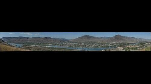 Panorama of Kamloops