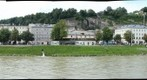 Salzach river in Salzburg