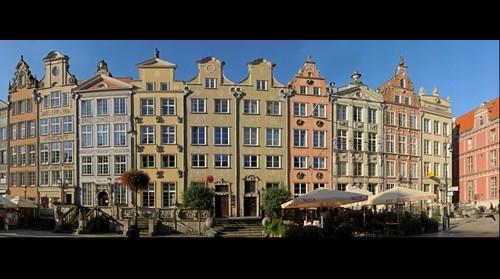 Long Market Street (Długi Targ 1-10), Gdańsk, Poland