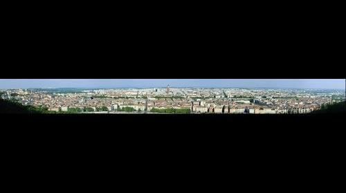 Lyon from Fourviere