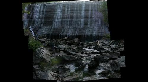 Conway Station Waterfall