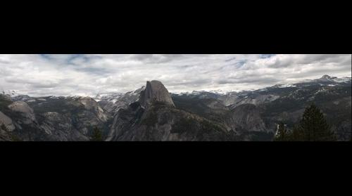 Glacier Point view in late spring