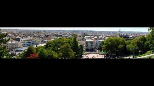 Paris, seen from Montmartre