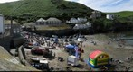 GP99  Port Isaac 5 on RNLI fund raising day and &quot;Find the Cuddly Monkey twice&quot;.