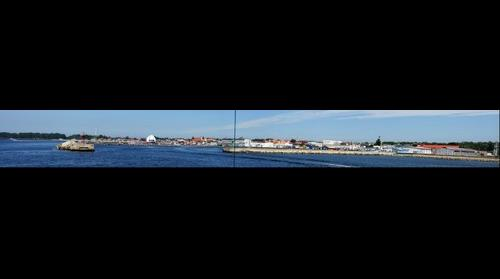 Panorama of Hel port